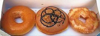 Krispy Kreme Doughnuts キャラメル&ブロンドチョコ他.jpg